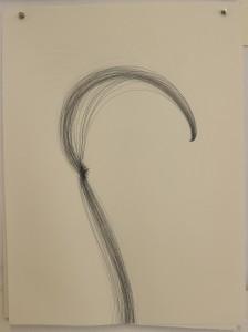 o.T., 2018 ,Tusche auf Arches Bütten, 56x76 cm ausgestellt auf der Donaueschinger Regionale 2019