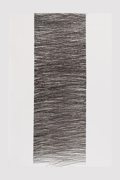 o.T. 100x150 cm , Tuschestift auf Papier, Foto Frank Kleinbach
