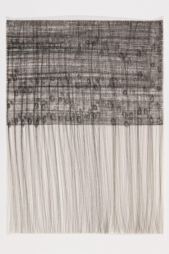 o.t., Tuschestift auf Arches Bütten, 54 x 74 cm